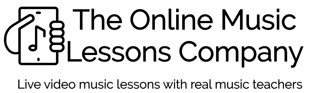 The Online Music Lessons Company Logo
